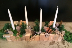 workshop najaar 2015 | kersttafel arrangement